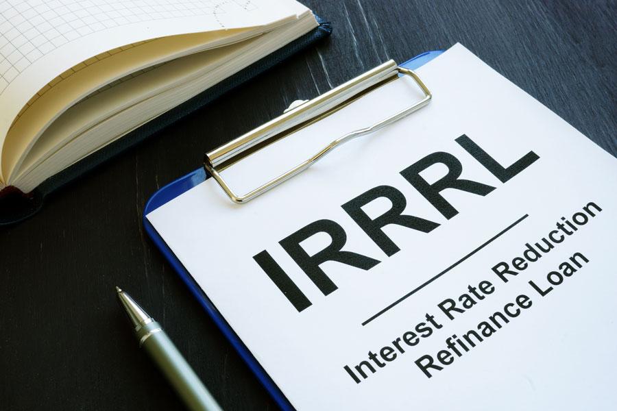 Interest Rate Reduction Refinance Loans