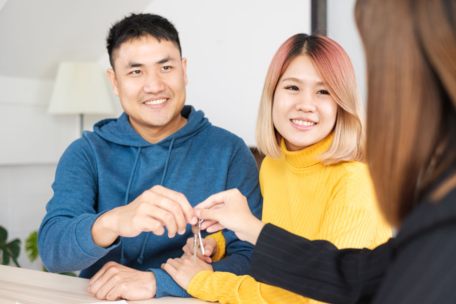 Even if you don't have to pay any interest or make any payments for awhile, new purchases come with new debt that will have to be factored in and can affect qualifying for your loan. File photo: ShutterStock.com, licensed.