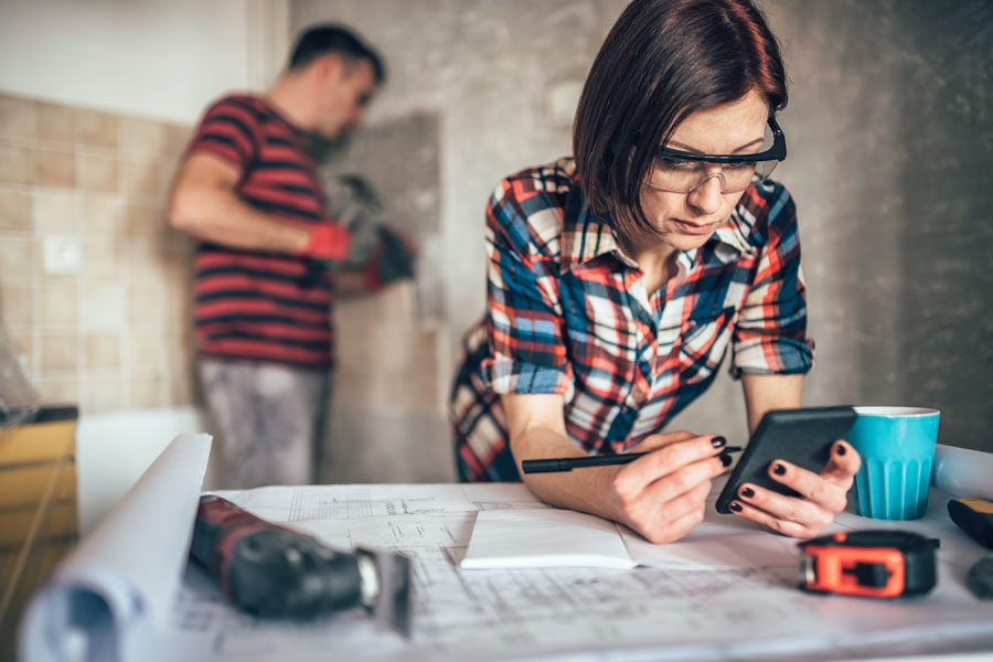 Section 203(k) loans can be used to pay for both the purchase of a home and any renovations or repairs that it may need, all rolled up into a single mortgage. File photo: Shutter Stock, licensed.